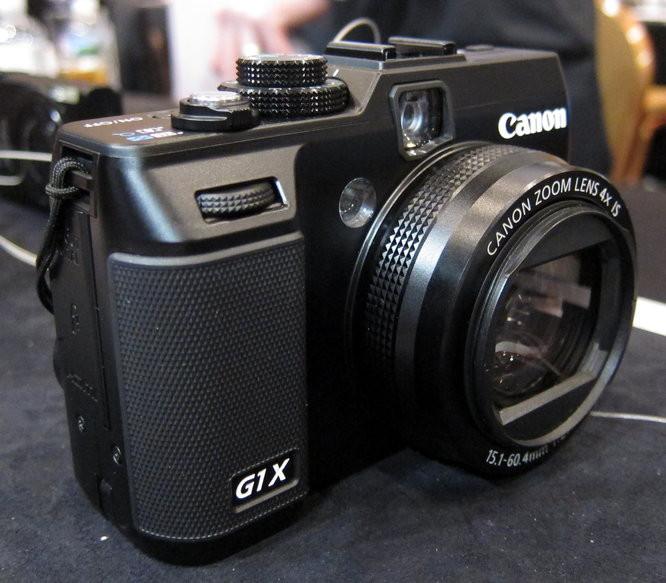 Блиц-обзор Сanon PowerShot G1 X - необычная камера