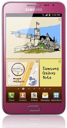 В России появился розовый Galaxy Note
