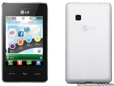 LG T375 Cookie Smart – телефон с двумя слотами для SIM-карт