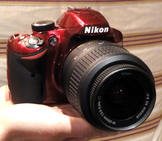 Анонсирована бюджетная зеркальная фотокамера Nikon D3200