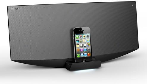 Sony CMT-V758BTiP – стильная док-станция для iPhone и iPad