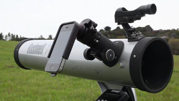 Переходник Magnifi позволяет делать на iPhone снимки телескопом и микроскопом