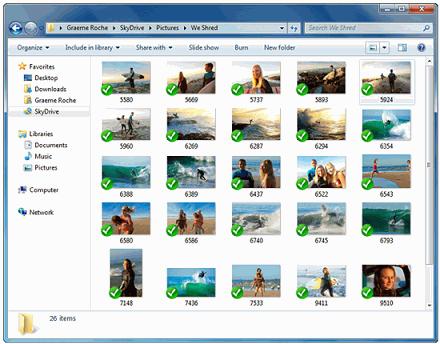 Сервис Microsoft SkyDrive становится конкурентом Dropbox