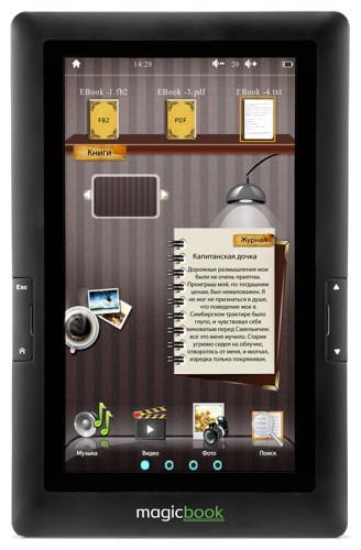 Gmini MagicBook T70 - недорогая «читалка» с цветным экраном