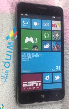 Huawei Ascend W2: смартфон с HD-экраном под управлением Windows Phone 8