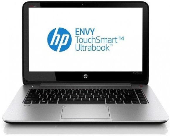 HP Envy 14 TouchSmart: 14-дюймовый ультрабук с разрешением экрана 3200 х 1800 точек