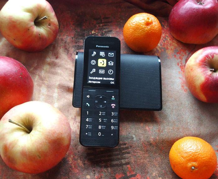 Телефон DECT Panasonic KX-TG6821RUF автоответчик АОН Caller ID 50 Спикерфон Эко-режим Радионяня
