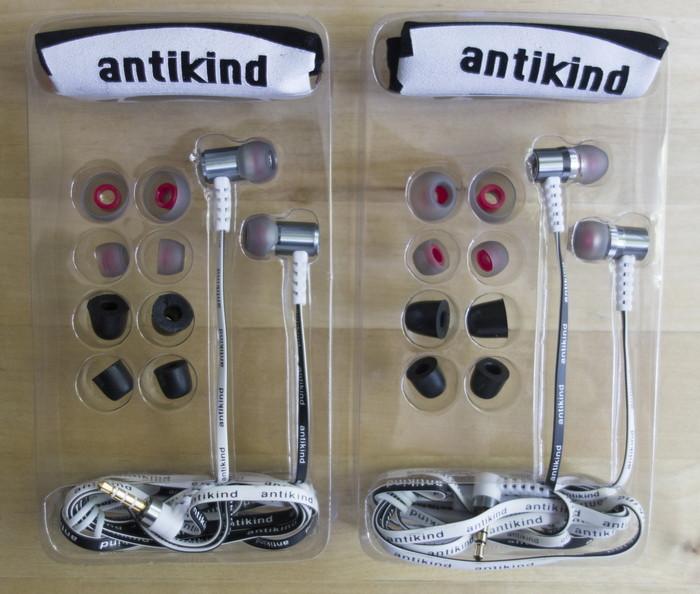 Обзор наушников Antikind AK12, AK20 и AK40: новинки без изюминки