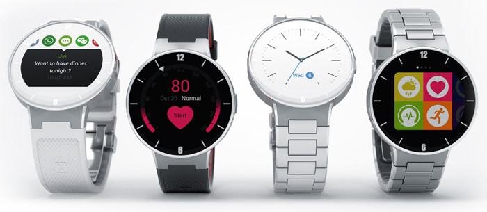CES 2015. Круглые смарт-часы Alcatel OneTouch Watch