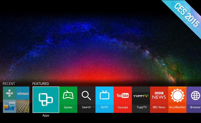 CES 2015. Все «умные телевизоры» Samsung в 2015 году будут базироваться на Tizen