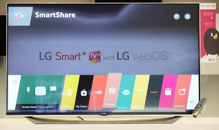CES 2015. LG представляет платформу WebOS 2.0 для телевизоров класса Smart TV