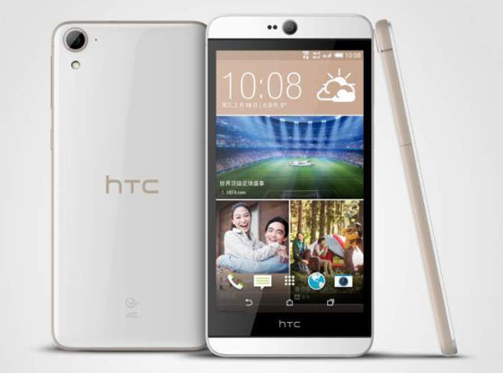CES 2015. HTC Desire 826: первый смартфон компании на Android 5.0 Lollipop