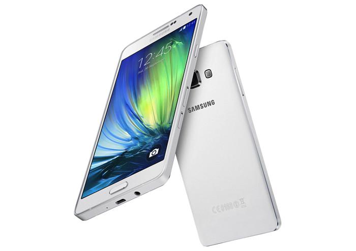 Samsung представляет 5,5-дюймовый металлический смартфон Galaxy A7