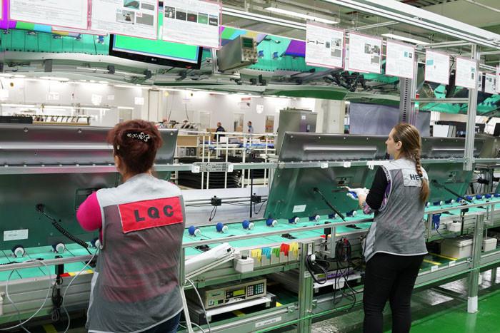 Фоторепортаж с завода LG в России: Телевизоры и многое другое