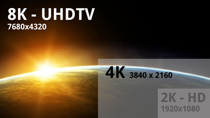 В VESA готовят стандарт для дисплеев с разрешением 8k