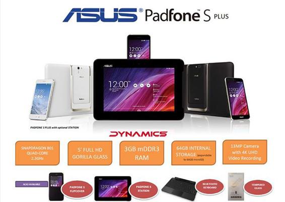 ASUS выпустила обновленную версию смартфона Padfone S – Padfone S Plus