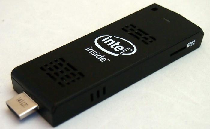 В Intel выпустили миниатюрный компьютер Compute Stick