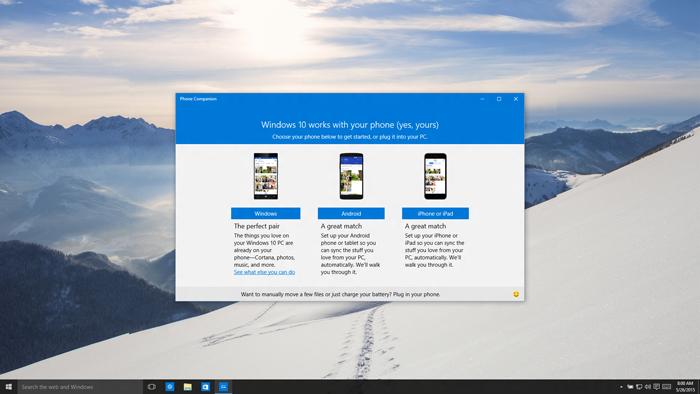 Как Microsoft Cortana будет выглядеть на iPhone и Android