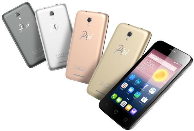 IFA 2015. Бюджетный смартфон Alcatel One Touch Pixi First