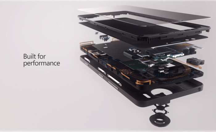 Microsoft представляет 5,7-дюймовый фаблет Lumia 950 XL