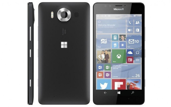 Microsoft Lumia 950 5,2-дюймовый смартфон на Windows 10 Mobile