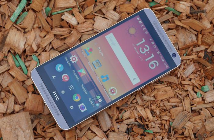 Обзор HTC One E9+: флагманский экран и «железо» среднего класса