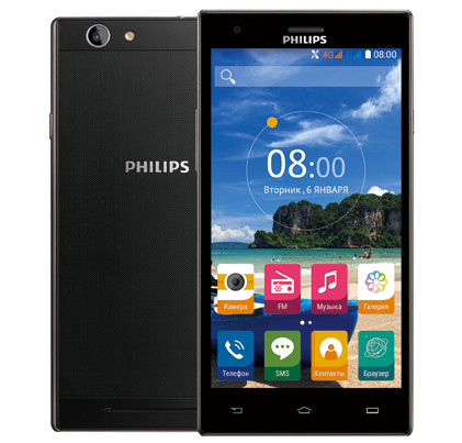 Анонсирован 5,5-дюймовый смартфон Philips S616 с Android 5.1 Lollipop и 8-ядерным процессором