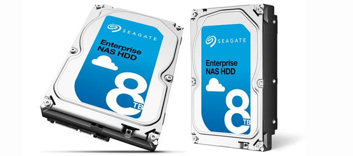 Seagate официально представила NAS HDD на 8 Тб