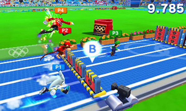 Обзор Mario & Sonic at the Rio 2016 Olympic Games для Nintendo 3DS