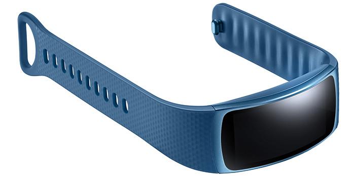 Представлен фитнес-браслет Samsung Gear Fit 2 с GPS-модулем и изогнутым экраном