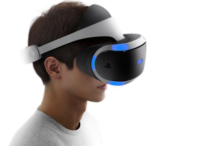 Шлем PS VRвыйдет всередине осени