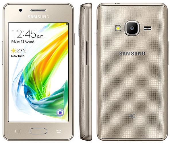 Представлен бюджетный смартфон Samsung Z2 под управлением Tizen