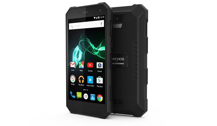 IFA 2016: прочный смартфон Archos 50 Saphir выдержит мороз ижару