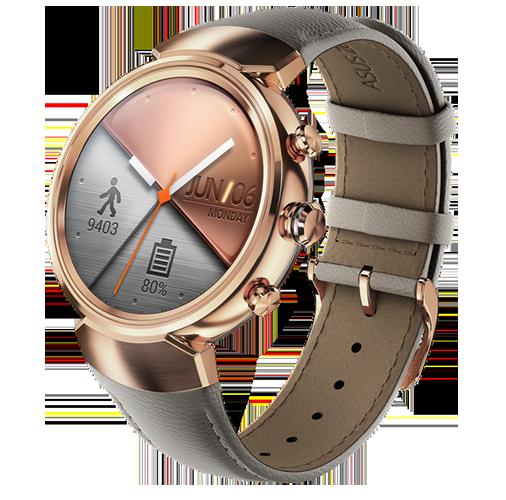 Asus официально представила смарт-часы ZenWatch 3 скруглым экраном