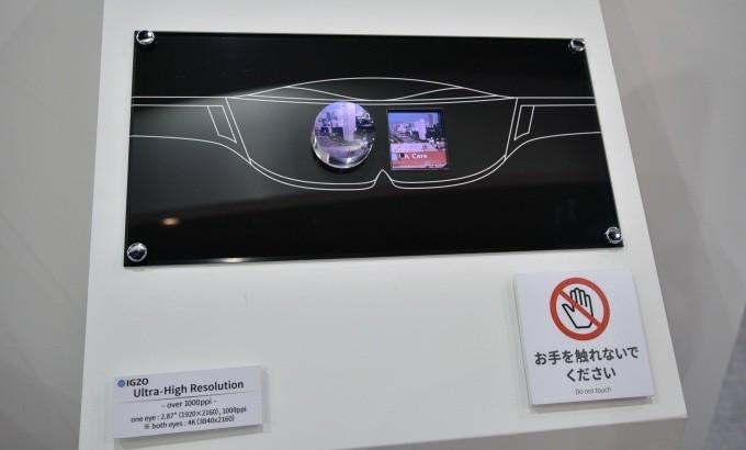 Sharp представила IGZO-панель спиксельной плотностью свыше тысяча ppi
