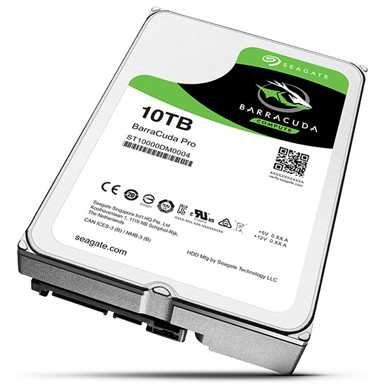 Seagate представила жесткие диски Mobile BarraCuda иFireCuda