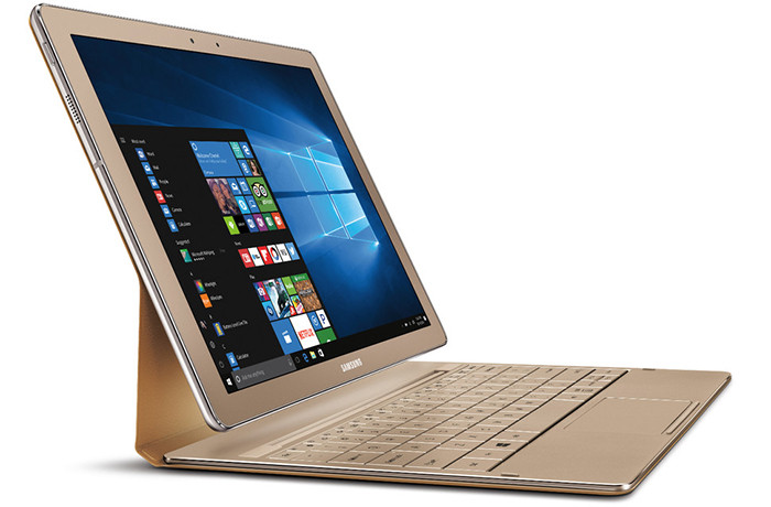 Samsung Galaxy TabPro S Gold Edition: Windows-планшет с 12,1-дюймовым экраном Super AMOLED