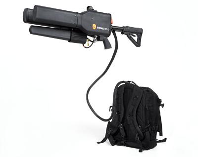 Электронная пушка DroneShield Dronegun дает возможность перехватывать дроны сопасным грузом
