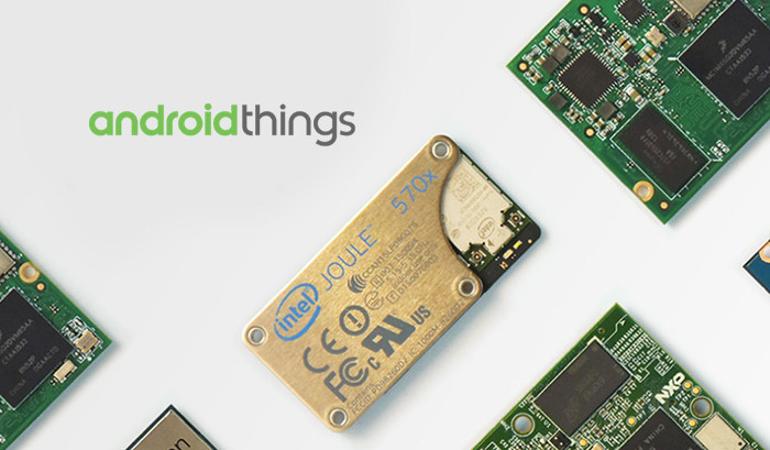 Представлена платформа Android Things для «интернета вещей»