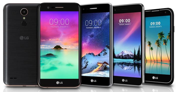 LGанонсировала выход 4 новых телефонов  изсерии KиStylus 3