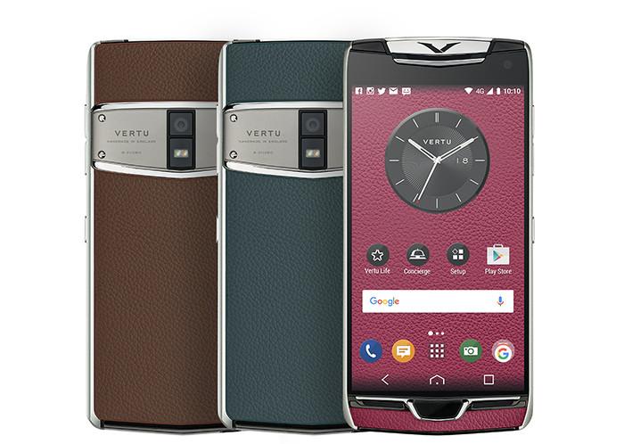 От300 тыс руб: Vertu представила обновленный тип телефонов
