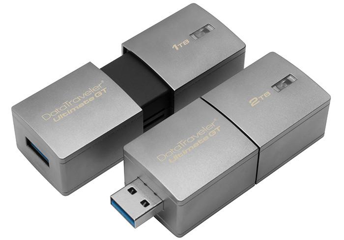 Представлена наибольшая USB-флешка вмире
