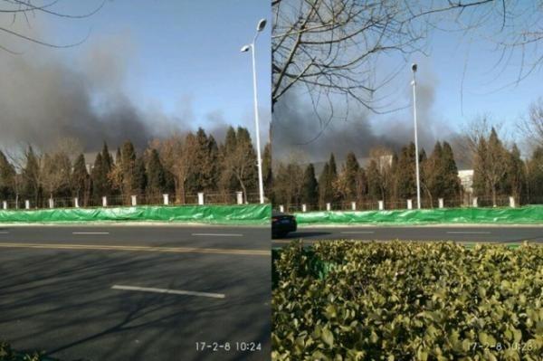 В Китае произошел пожар на на заводе Samsung, где производят аккумуляторы