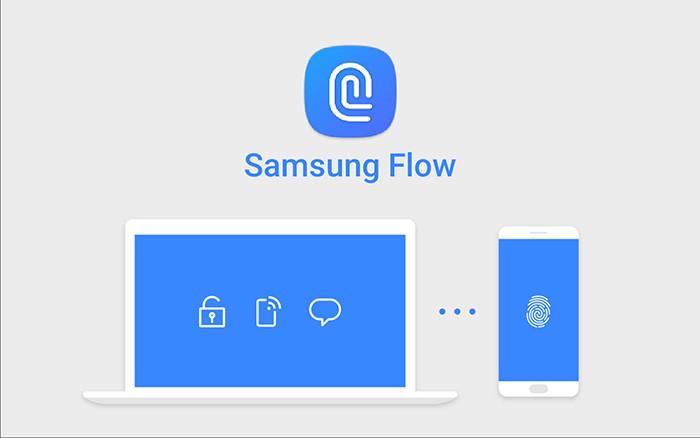 Схема работы Samsung Flow