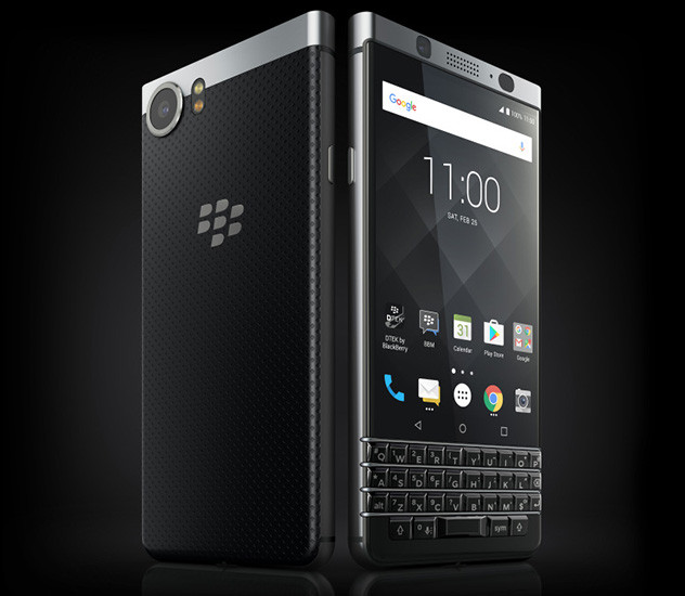 Blackberry представила смартфон без традиционной QWERTY-клавиатуры