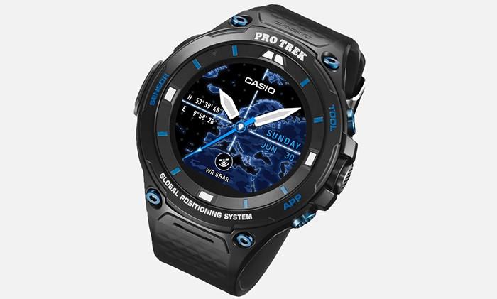 Casio представила лимитированную версию смарт-часов— Smart Outdoor Watch WSD-F20S