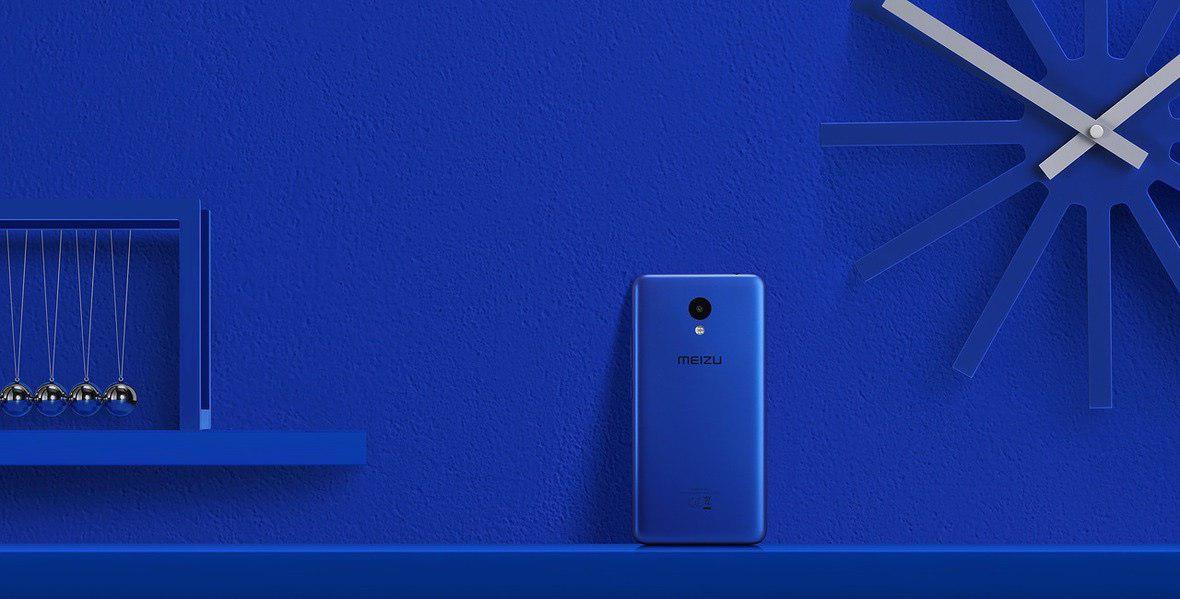 В Российской Федерации стартовали продажи телефона Meizu M5c