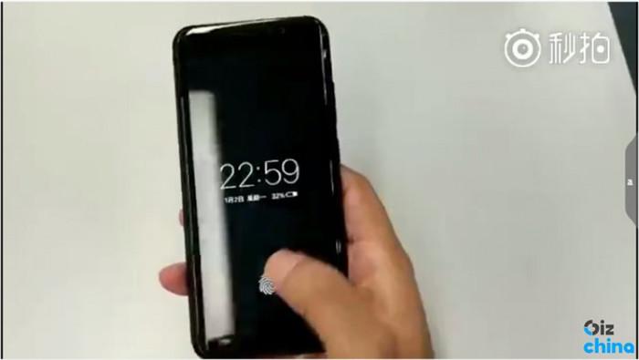 Китайцы обгонят Apple сосканером отпечатков пальцев под дисплеем