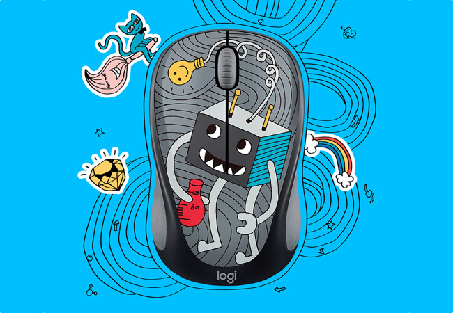 мыши Logitech Doodle Collection