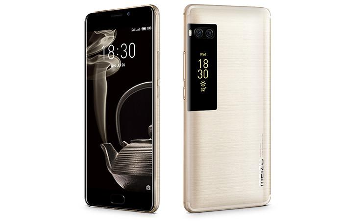 Флагманские смартфоны Meizu Pro 7 и Pro 7 Plus получили по два AMOLED-экрана
